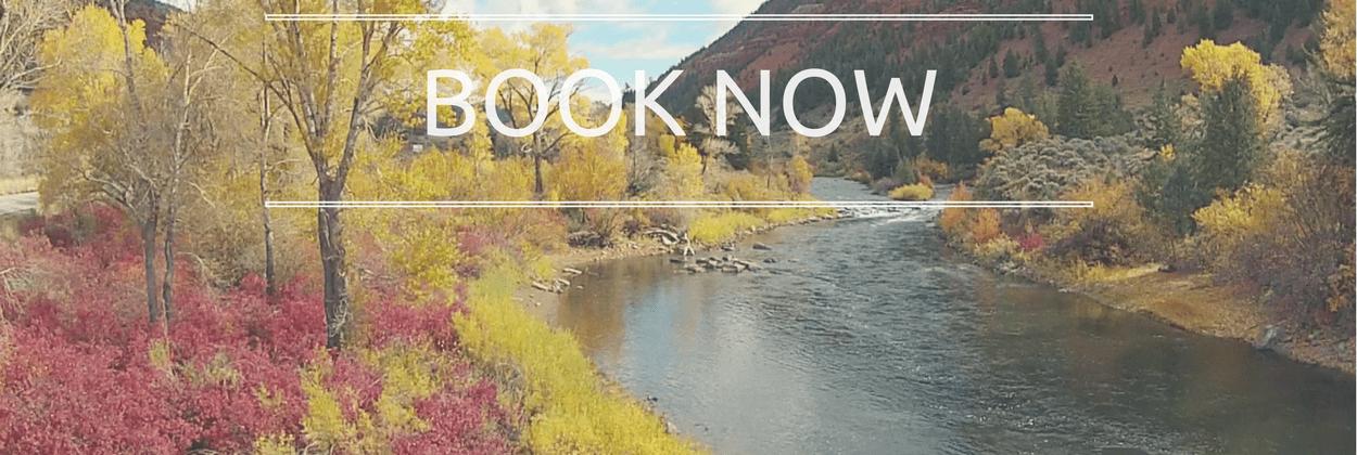 Eagle River Colorado in fall colors