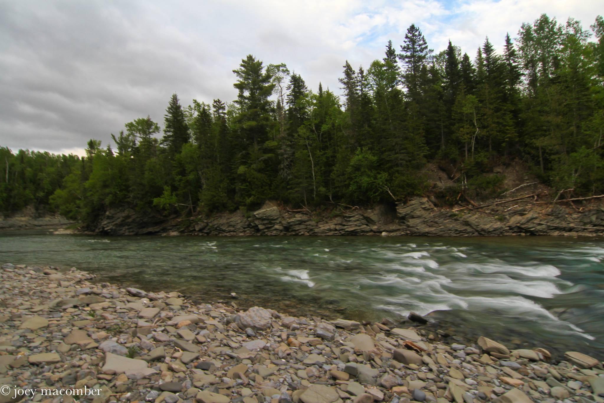 St. Jean River Gaspe Quebec