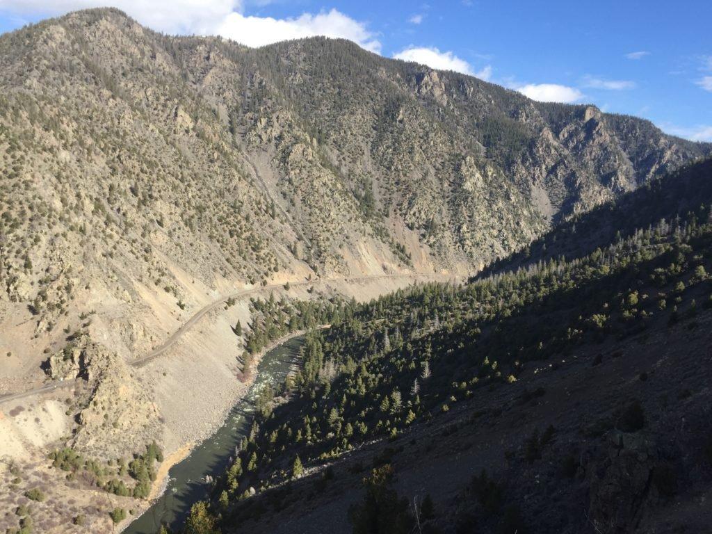 Colorado River, Gore Canyon