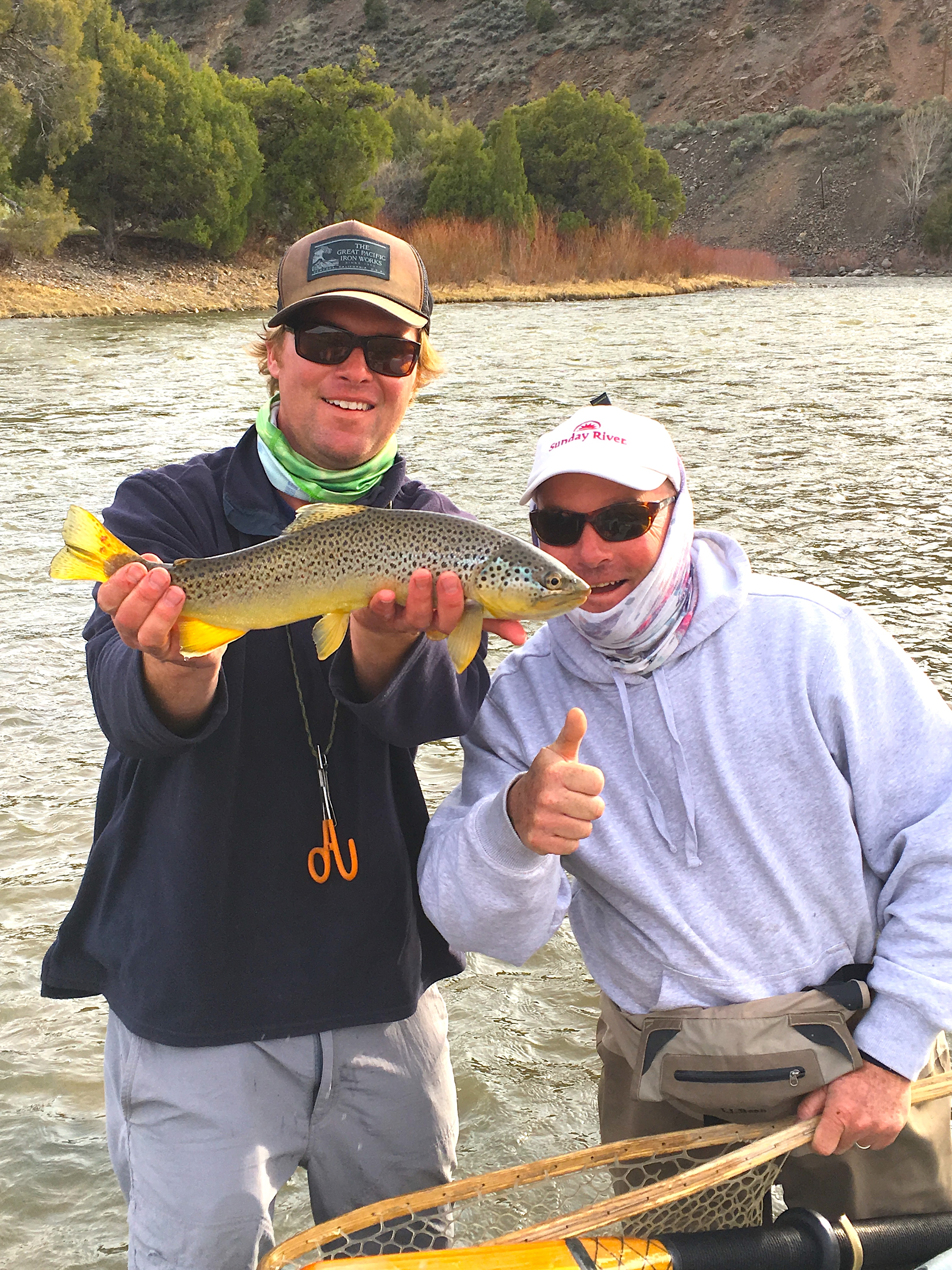 Colorado fly fishing report eagle colorado river for Trouts fly fishing reports