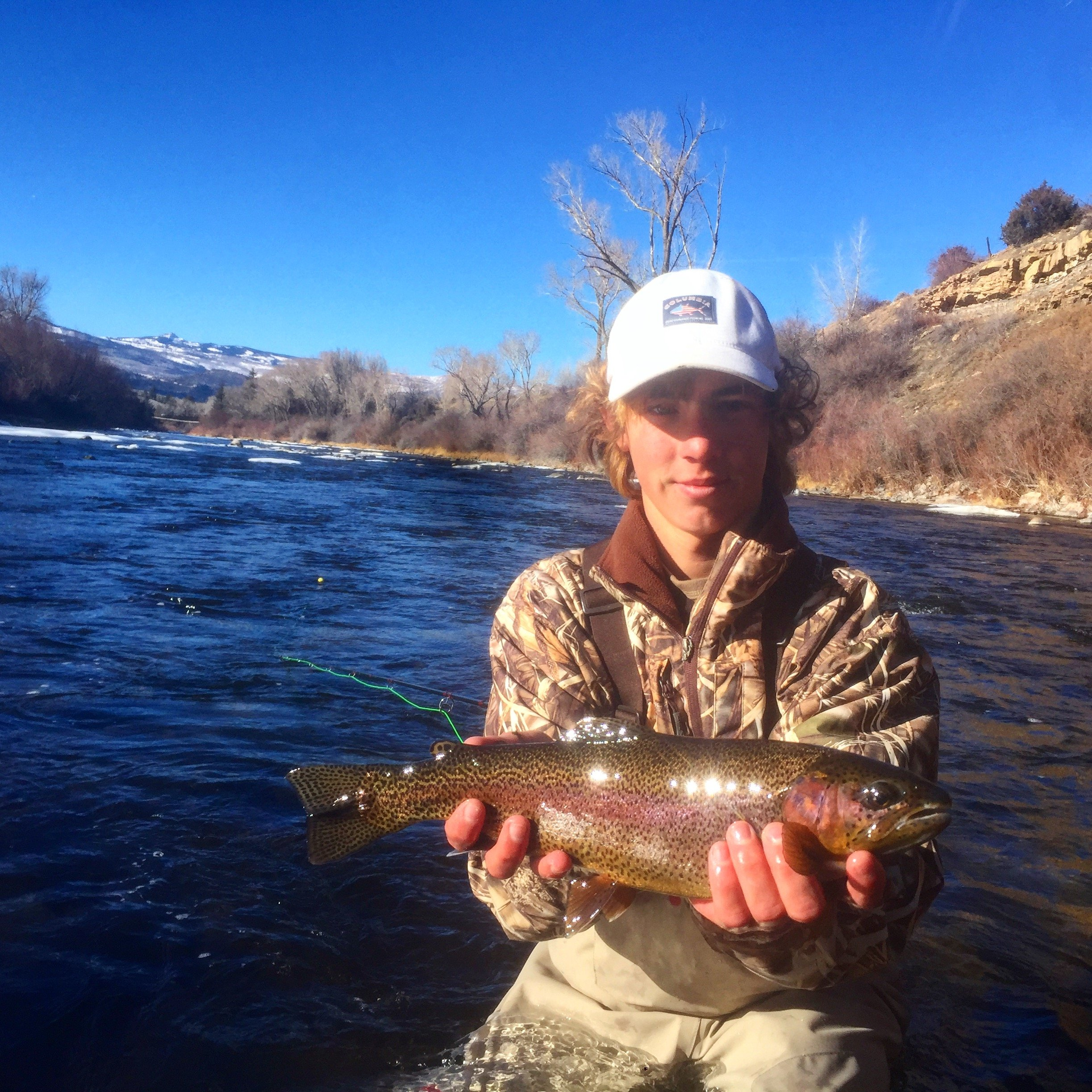 Eagle river fishing reports latest archived fishing for Colorado river fishing report